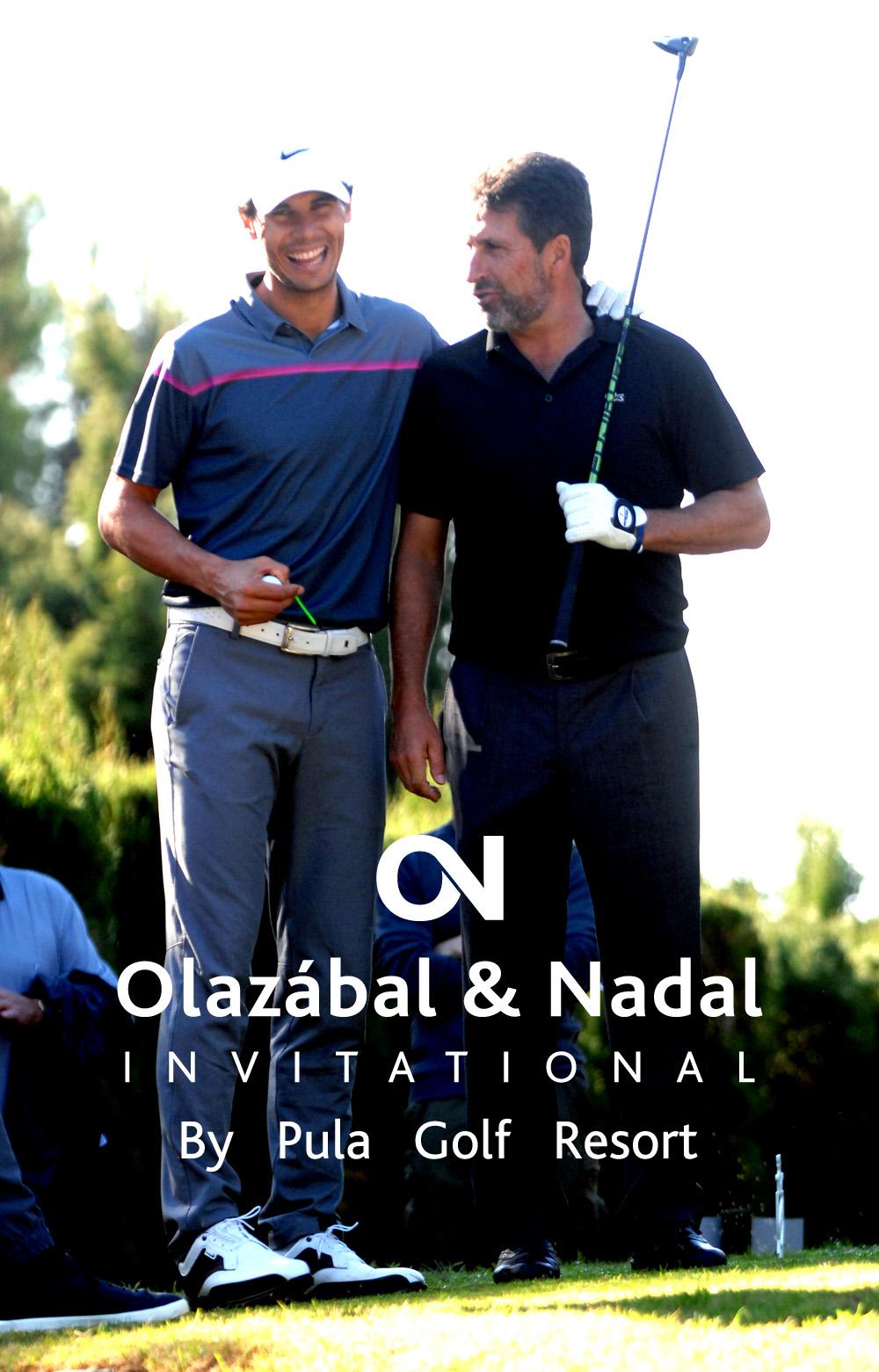 torneo de golf Olazabal & Nadal