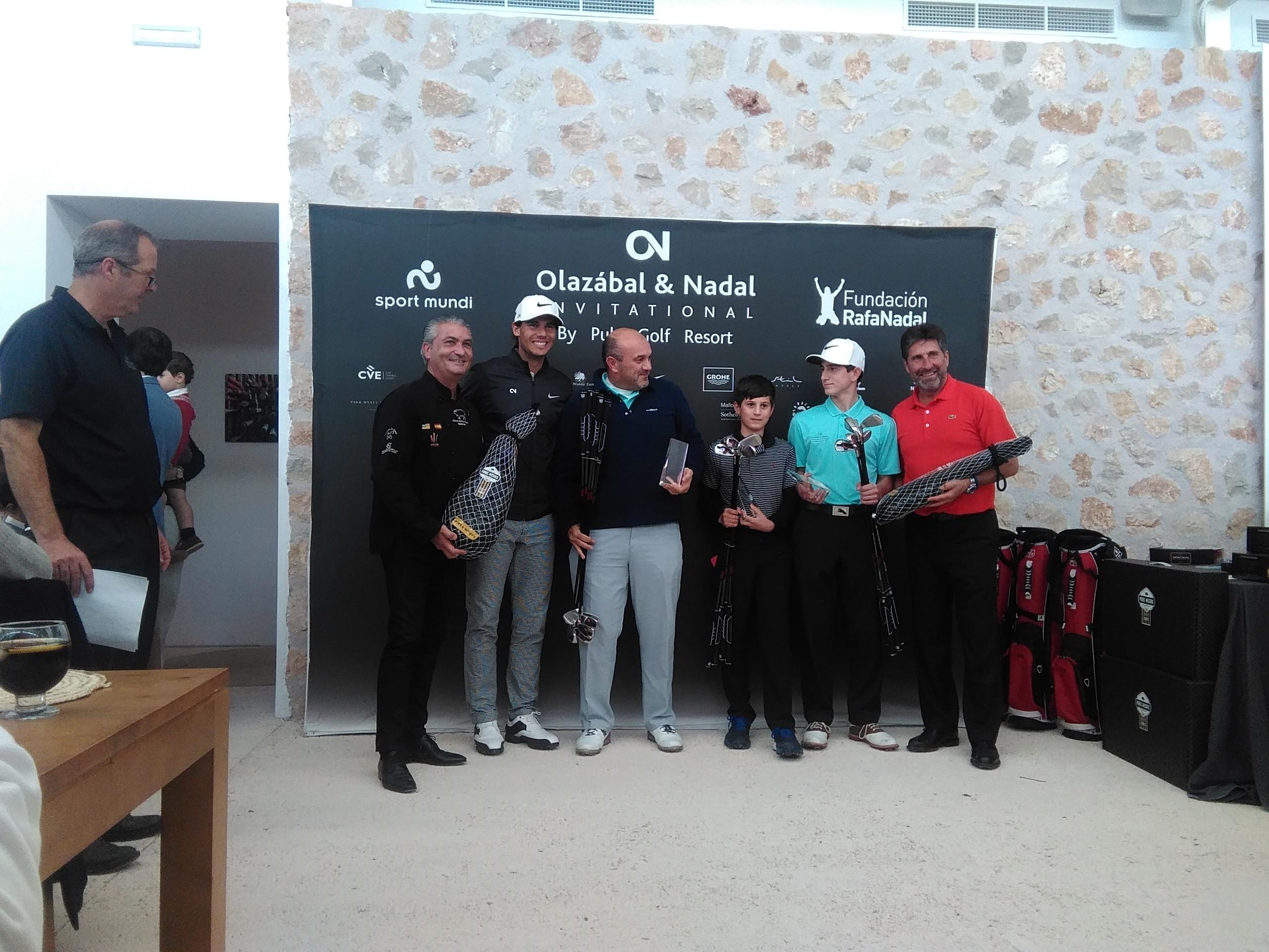 ganadores del torneo